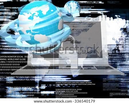 Innovation connection technology.Generation Internet innovation - stock photo