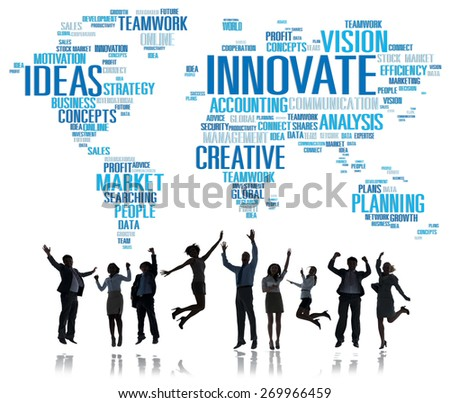 Innovation Inspiration Creativity Ideas Progress Innovate Concept - stock photo