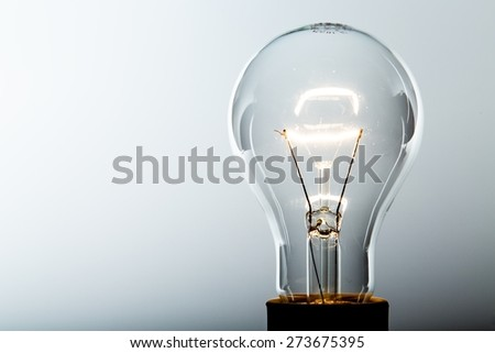 Innovation, Light Bulb, Inspiration. - stock photo