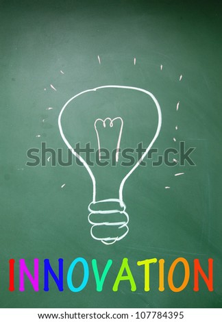innovation symbol - stock photo
