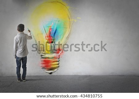 Innovative idea - stock photo