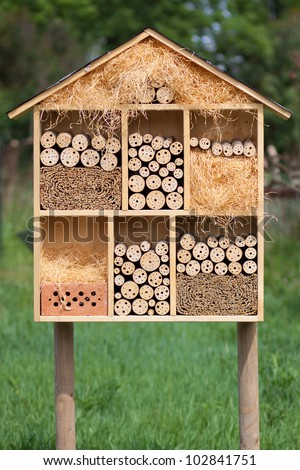 Insect Hotel - stock photo
