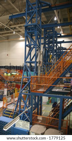 inside aerospace production facility - photo #14