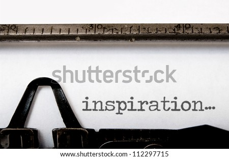 Inspiration - stock photo