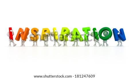 inspiration Team - stock photo