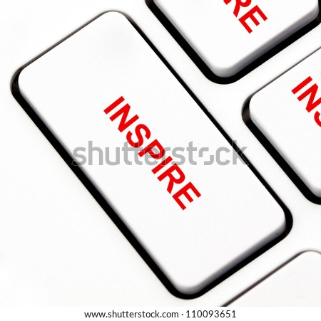 Inspire button on keyboard