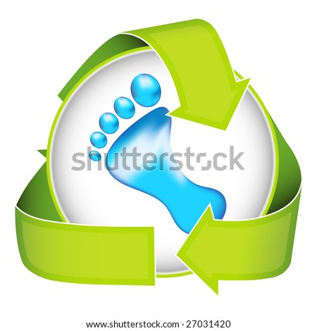 Inspire people to conserve energy and water with this conceptual image. - stock photo