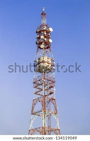 Installation Of Antennas For Sending And Receiving Radio Signals