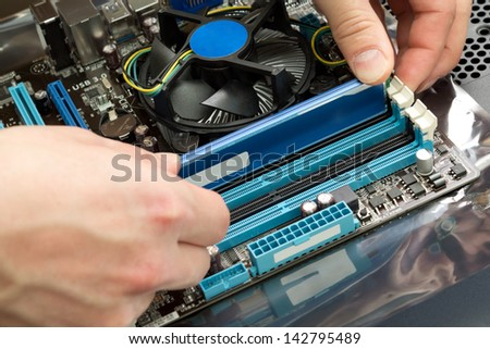 Fiber Optic Cable Splice Machine Stock Photo 376964740