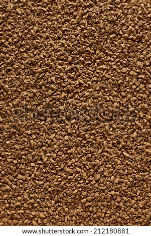 Instant granulated coffee background - stock photo