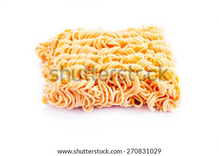 instant noodles,Top Foods of Thailand - stock photo