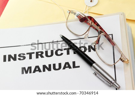Instruction Manual Images RoyaltyFree Images Vectors – Instruction Manual