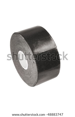 insulating tape isolated on a white - stock photo