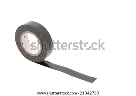 insulating tape isolated on white
