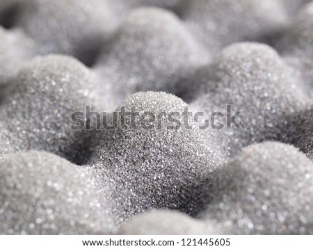 insulation material detail - stock photo