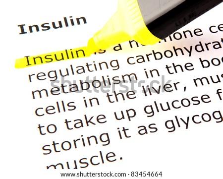 Insulin - stock photo