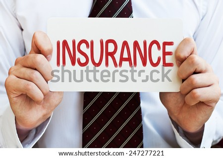 Insurance Concept - stock photo