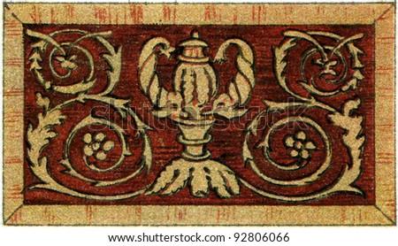 Coat Arms Austriahungary Empire Carniola Left Stock