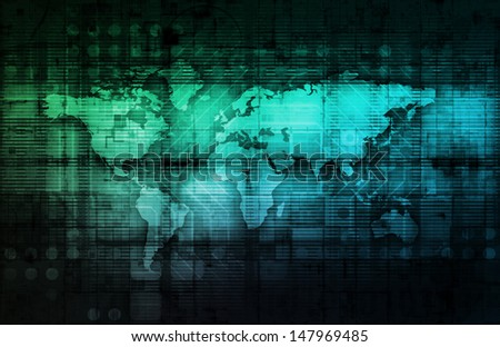 Integrated System Solutions on the Web Platform - stock photo