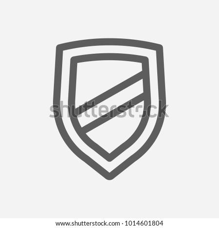 Integrity Value Icon Line Symbol Isolated Stock Illustration