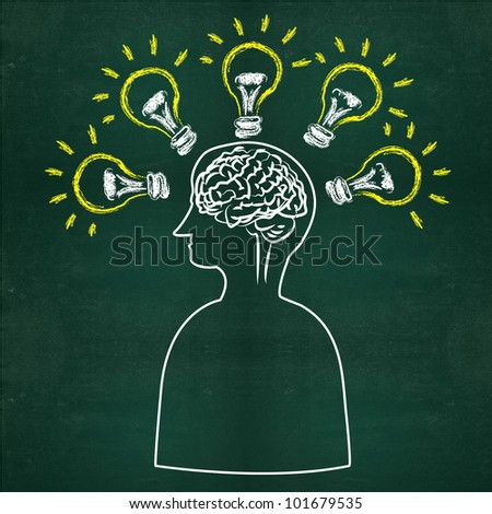 Intelligence,Brain - stock photo