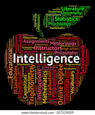 Intelligence Word Meaning Intellectual Capacity And Talent