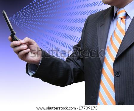 Interaction - stock photo