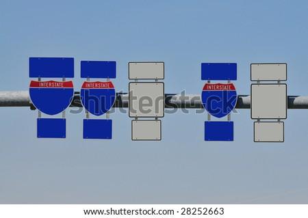 interchange - stock photo