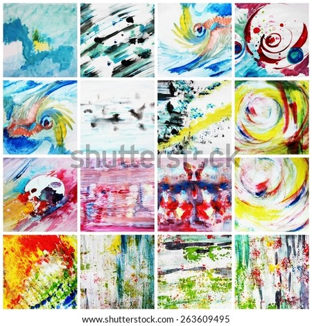 Interesting backgrounds or Creative backgrounds, Abstract art - stock photo