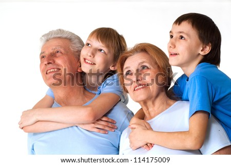 Interesting family having a good leisure time in each other's company