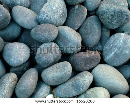 Interesting photo of some blue stones - stock photo