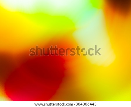 Interesting  texture in warm colors with autumn mood. Texture highly blurred - stock photo