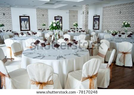 Interior Arrangement with flowers - stock photo