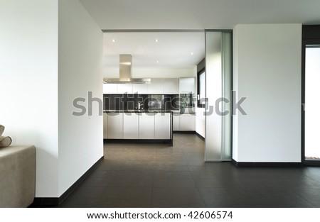 interior beautiful house - stock photo
