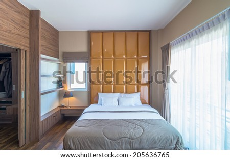 Interior bedroom of the Living hill sriracha-bowin - stock photo