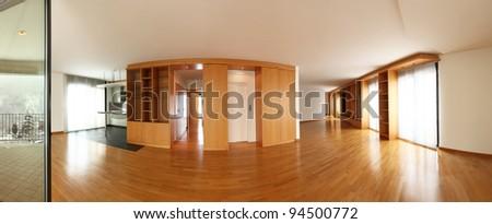 Interior big flat - stock photo