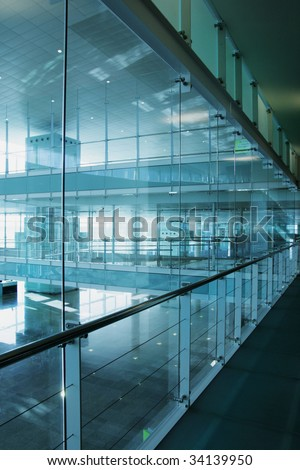 Interior building detail - stock photo