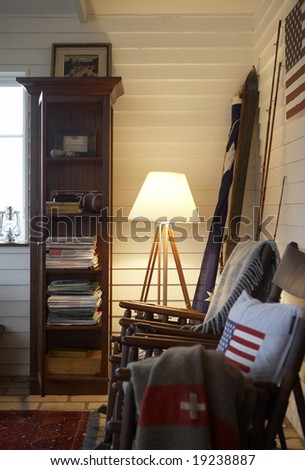 interior country style - stock photo