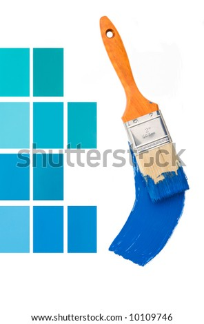 Interior Design Blues - stock photo