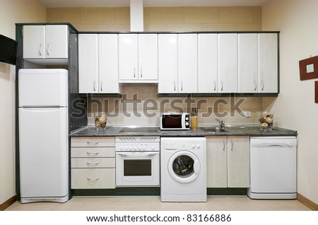 Interior Design: Kitchen - stock photo
