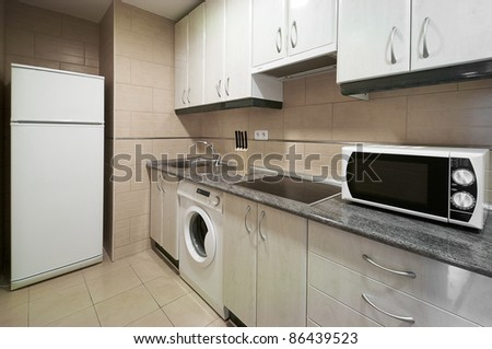 Interior Design: Kitchen - stock photo