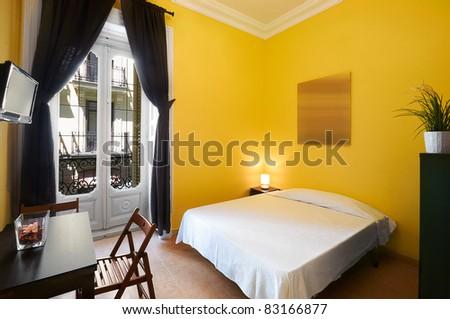 Interior Design: Modern Bedroom - stock photo