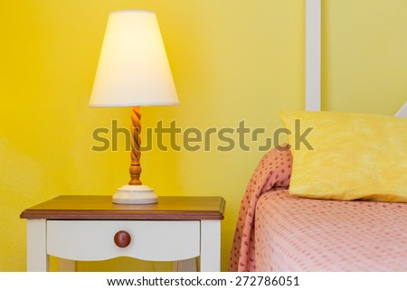 Interior design of hotel in Cayo Largo. Cuba - stock photo
