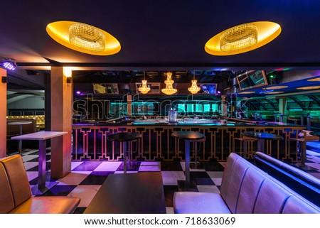 Nightclub Interior Stock Images RoyaltyFree Images Vectors