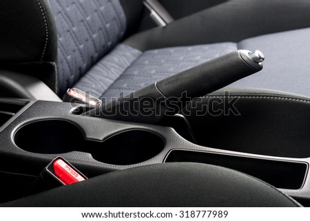 interior design of the modern car