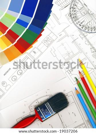 Interior Designing - stock photo