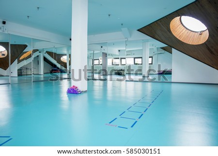 Interior halls for exercise