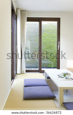 Interior Image Japanese Style Living Room Stock Photo 36626872 ...