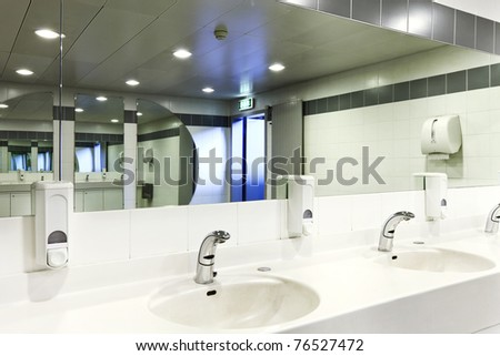 Public Bathroom Sink Stock Images Royalty Free Images Vectors