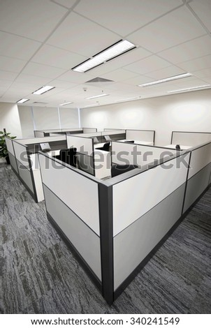 Interior of a modern office,Nobody - stock photo